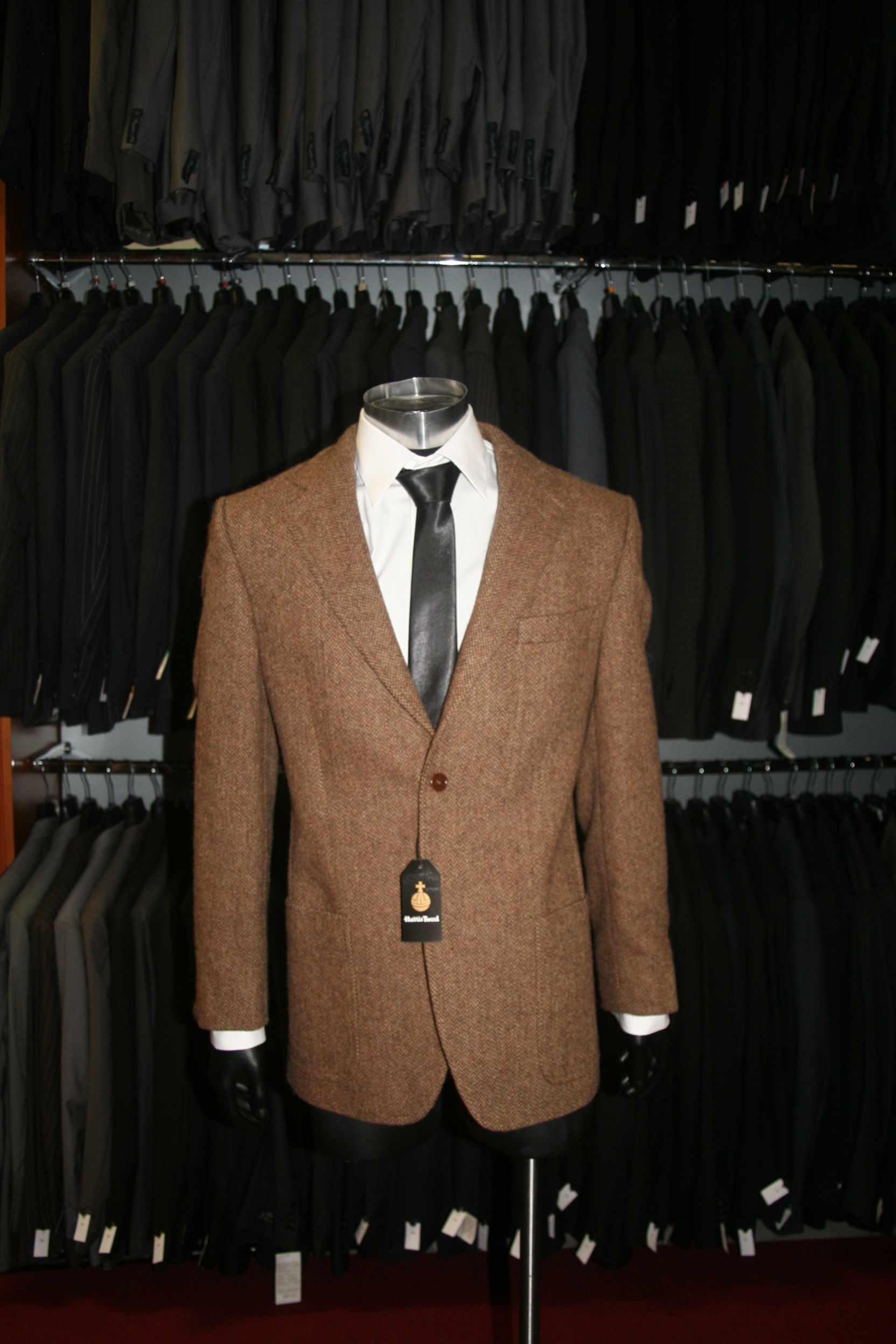 NEU Harris Tweed Sakko 100/% Schurwolle UVP389 made for FvF Collection